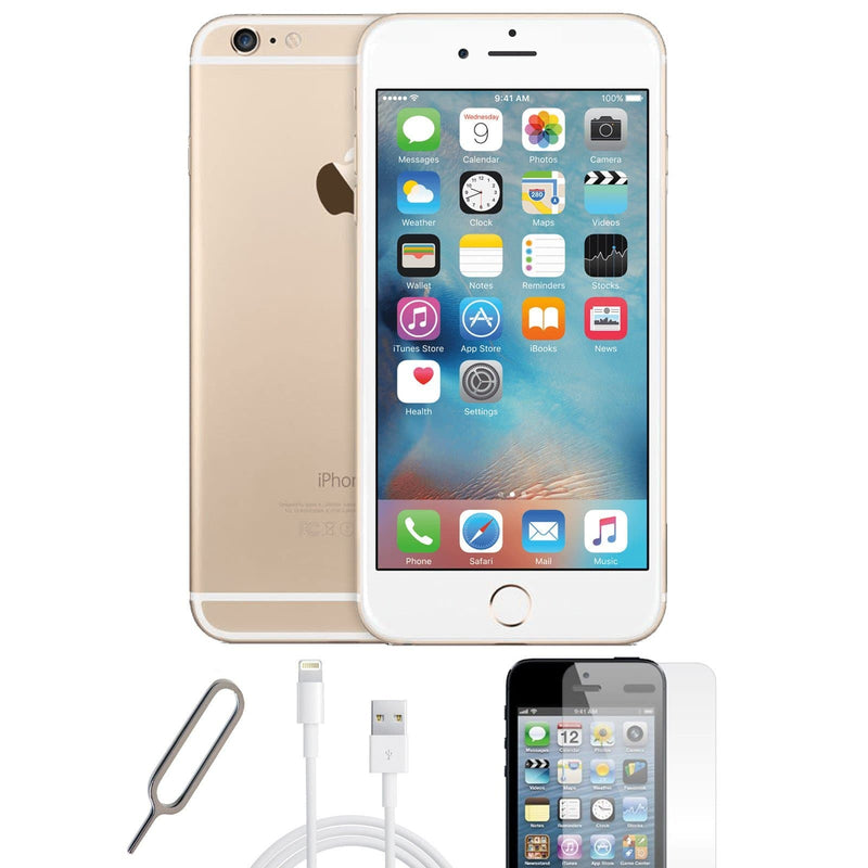 Apple iPhone 6 Plus Champagne Gold (16GB) - Unlocked - Pristine Basic Bundle