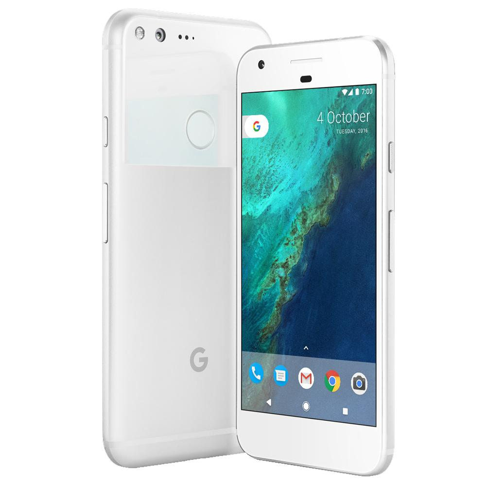 Google Pixel - White / Silver - (32GB) - Unlocked - Good Condition