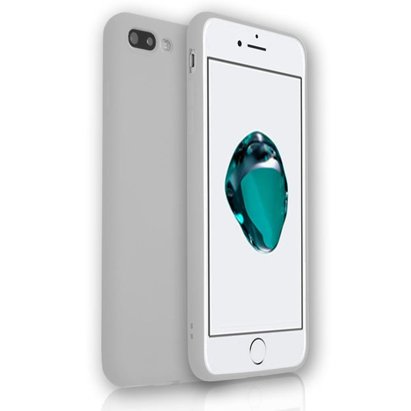 Apple iPhone 6/6S Plus - Soft Touch Silicone Rear Surround Case - Grey