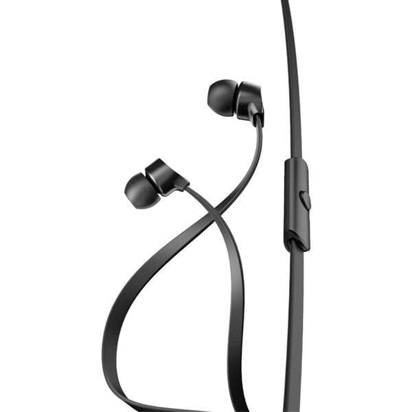 A-Jays One+ Plus Tangle Free Headphones + Mic Remote For Apple Devices