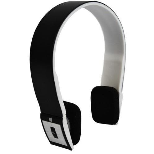 Headphones - Black Bluetooth 2.1 Wireless Stereo Headphones/Headset And Mic For Iphone Ipod
