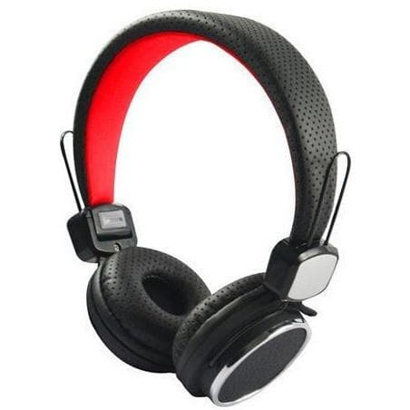 Black Kanen IP-850 Portable Headphones With Mic For Motorola Devices