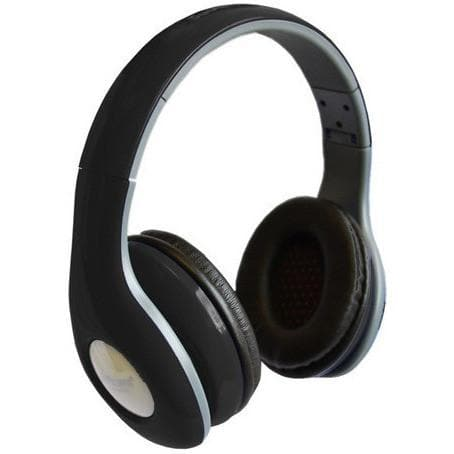 Headphones - Black Portable Headphones Mp3 Headband Over Ear Earphones Dj With Mic