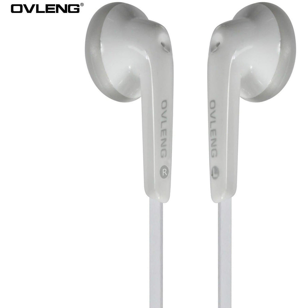 Ovleng IP-510 White Headphones For BlackBerry Devices