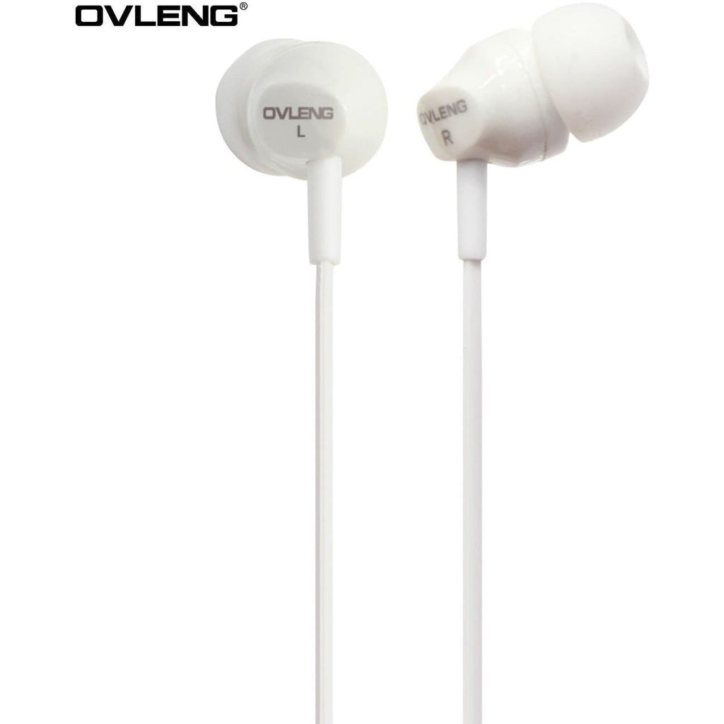 Ovleng IP-520 White Headphones For Apple Devices