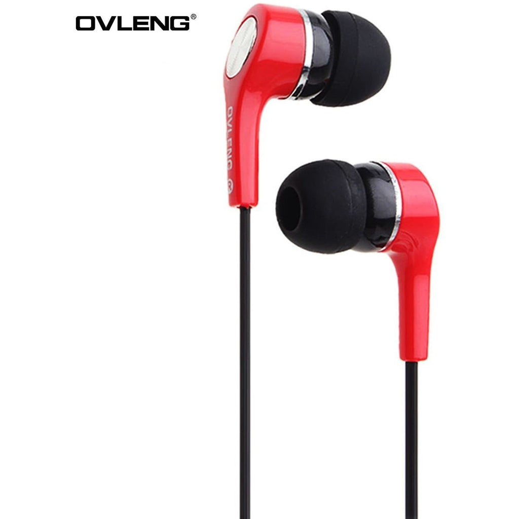 Ovleng IP-530 Red Headphones For BlackBerry Devices