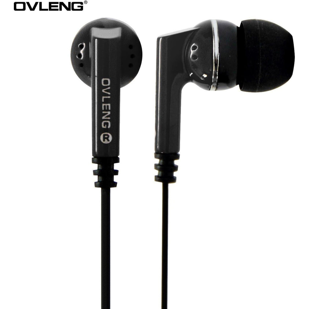 Ovleng IP-540 Black Headphones For Samsung Devices