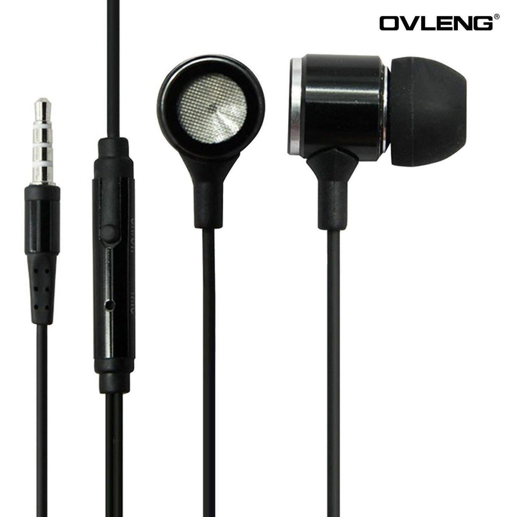 Ovleng IP-680 Black Headphones For OnePlus Devices