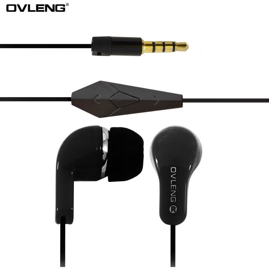 Ovleng IP-740 Black Headphones For HTC Devices