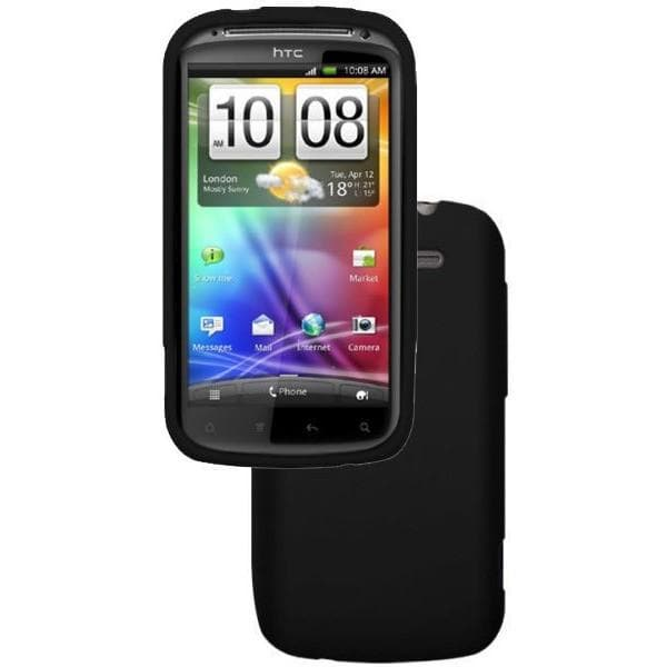 HTC Cases - Black Silicone Case Cover For HTC Sensation XE