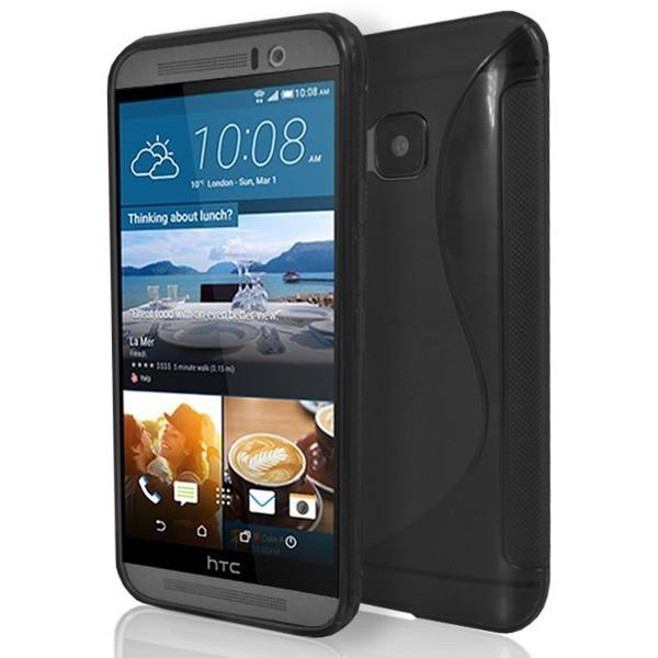 HTC One M9 - S Line Gel Silicone Case - Black