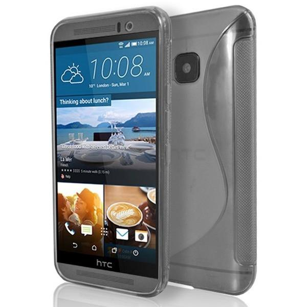 HTC One M9 - Clear S Line Gel Silicone Case - Transparent