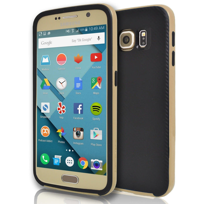 Samsung Galaxy S7 - Hybrid Protective Case - Gold