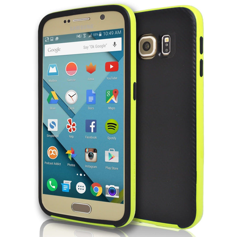 Samsung Galaxy S6 - Hybrid Protective Case - Yellow