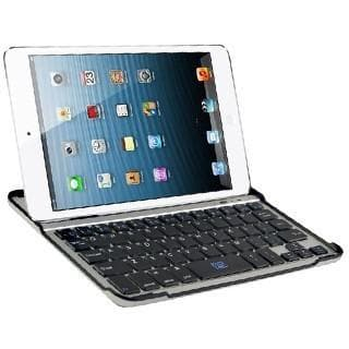 Wireless Aluminium Bluetooth Keyboard Case For iPad Mini - Black Keyboard