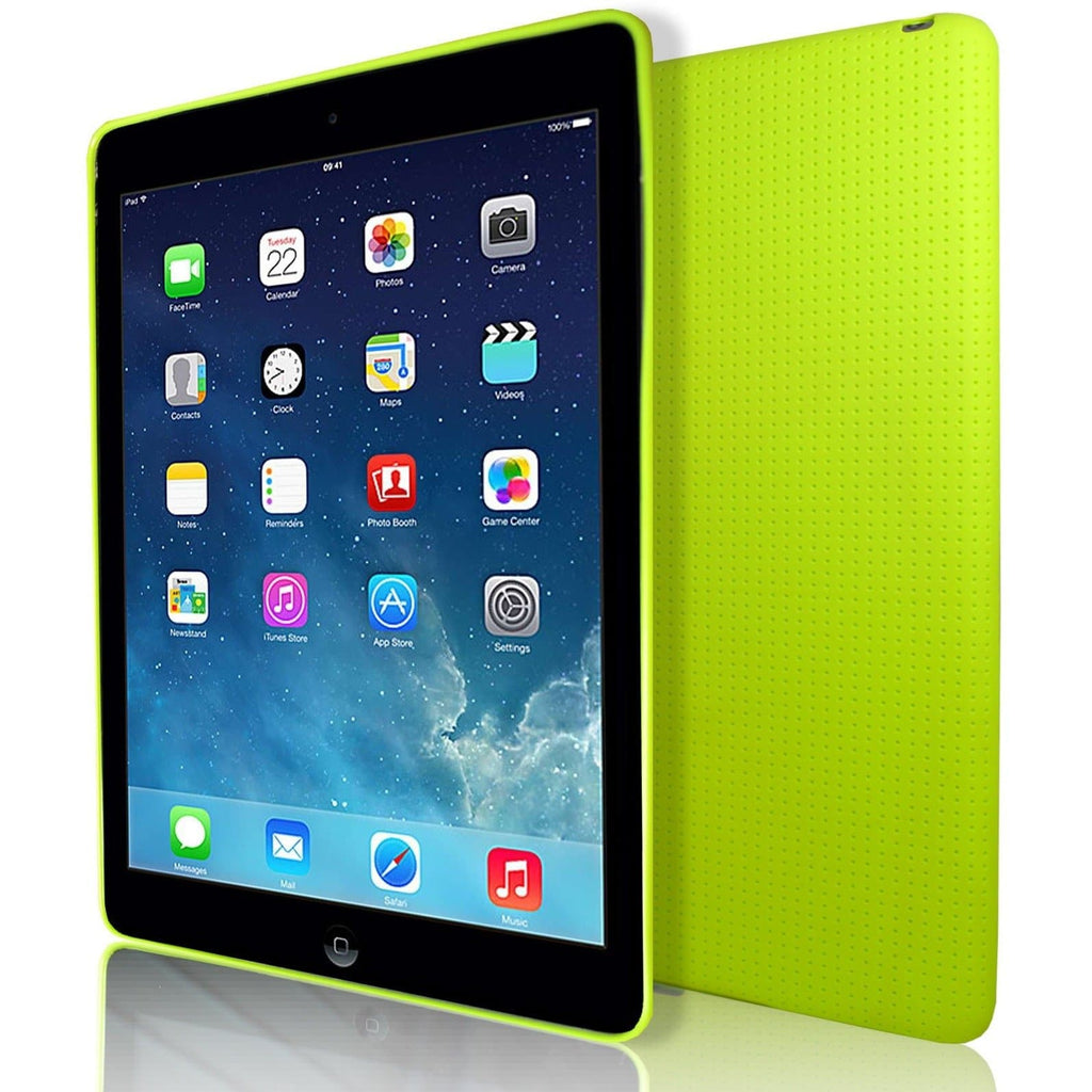 iPad Air 2 - Pin Hole Style Silicone Gel Case Cover - Green