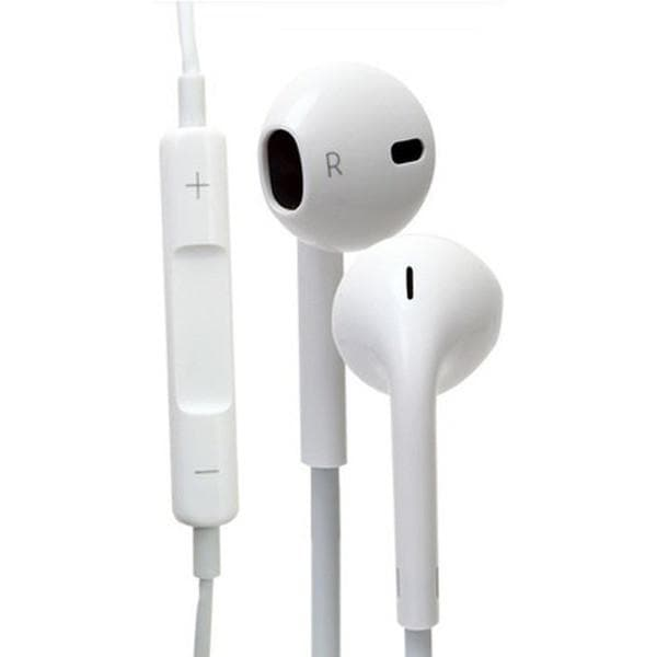 IPhone Cables - Genuine White Apple Handsfree Earphones Headphones With Mic MD827ZM