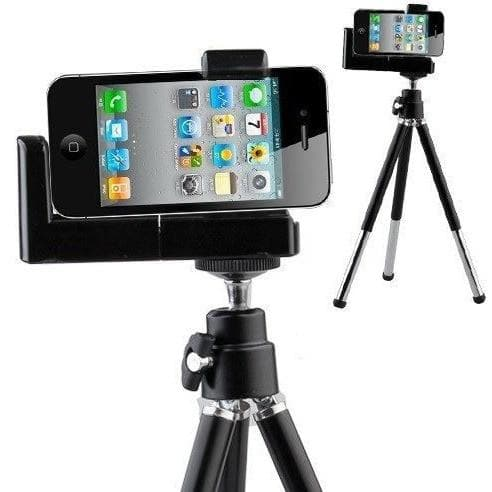 Wireless Shutter Release For iPhone 4 / 4S / 5 / 5S / 5C With Mini Rotatable Tripod Stand Holder