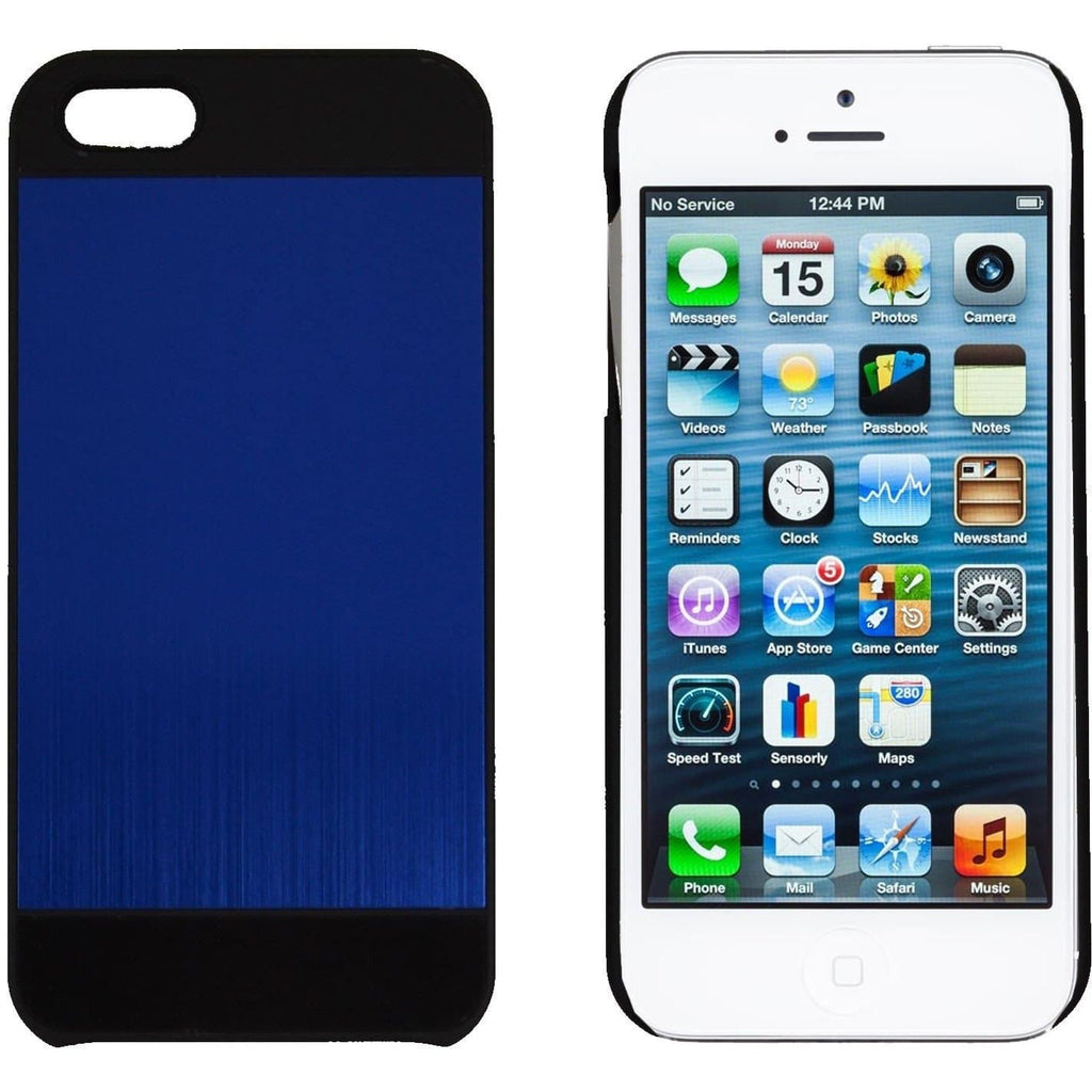 Apple iPhone 5/5S/SE Aluminium Case - Blue