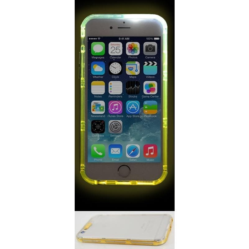 Apple iPhone 6/6S Luxury Light Up Case - Gold