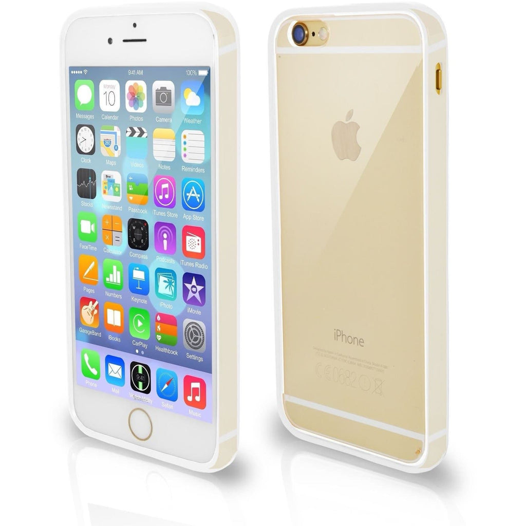 iPhone 6 / 6S Plus Bumper Clear Back Silicone Case - Transparent Clear