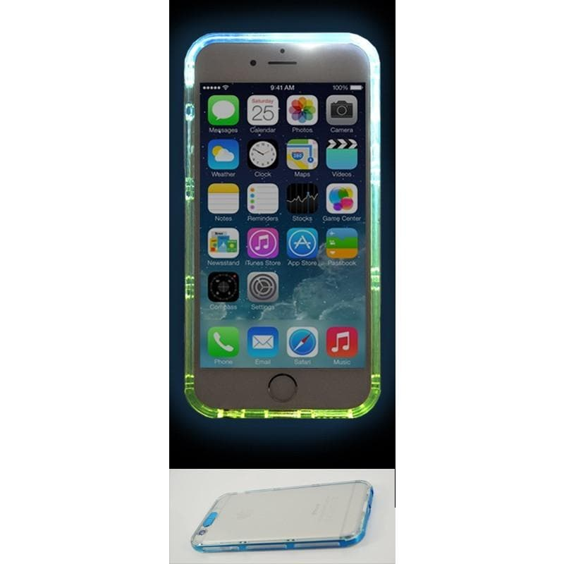 iPhone 6 Plus / 6S Plus Luxury Selfie Light Up Case - Blue