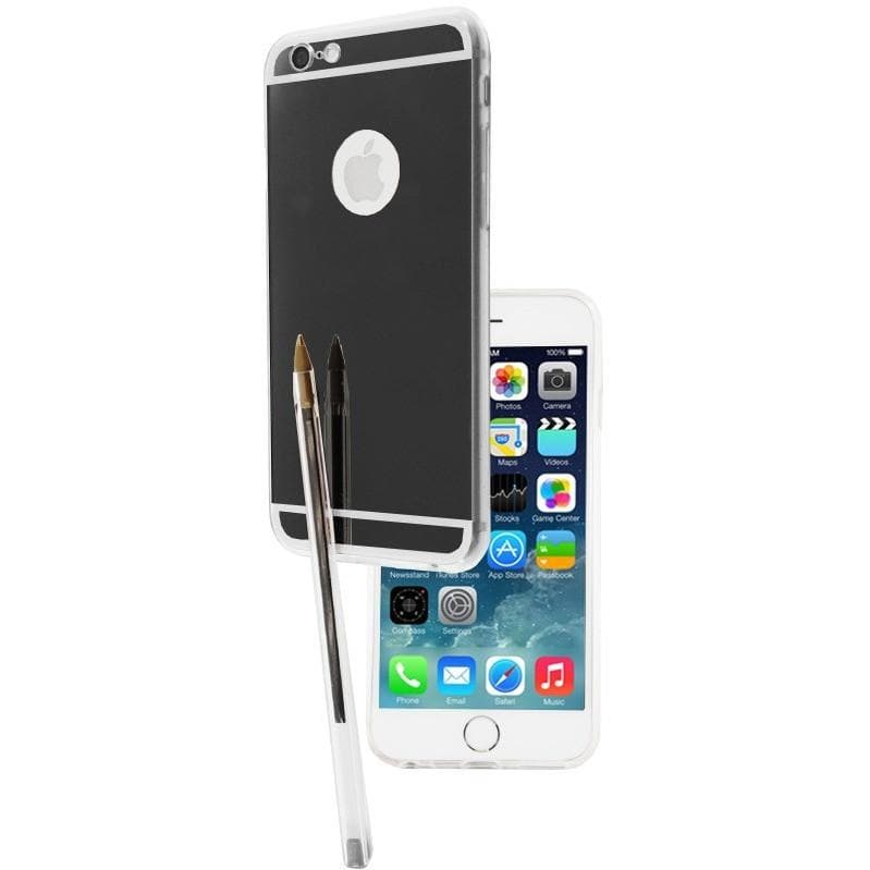 iPhone 6 Plus / 6S Plus Luxury Ultra Thin Aluminum Mirror Case - Black
