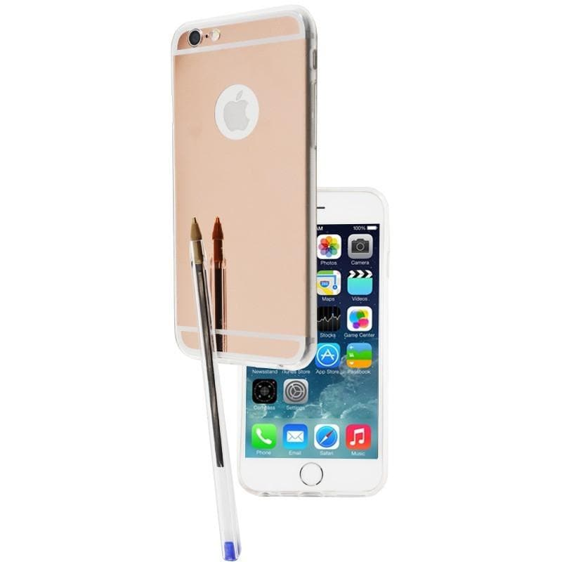 iPhone 6 Plus / 6S Plus Luxury Ultra Thin Aluminum Mirror Case - Dark Gold