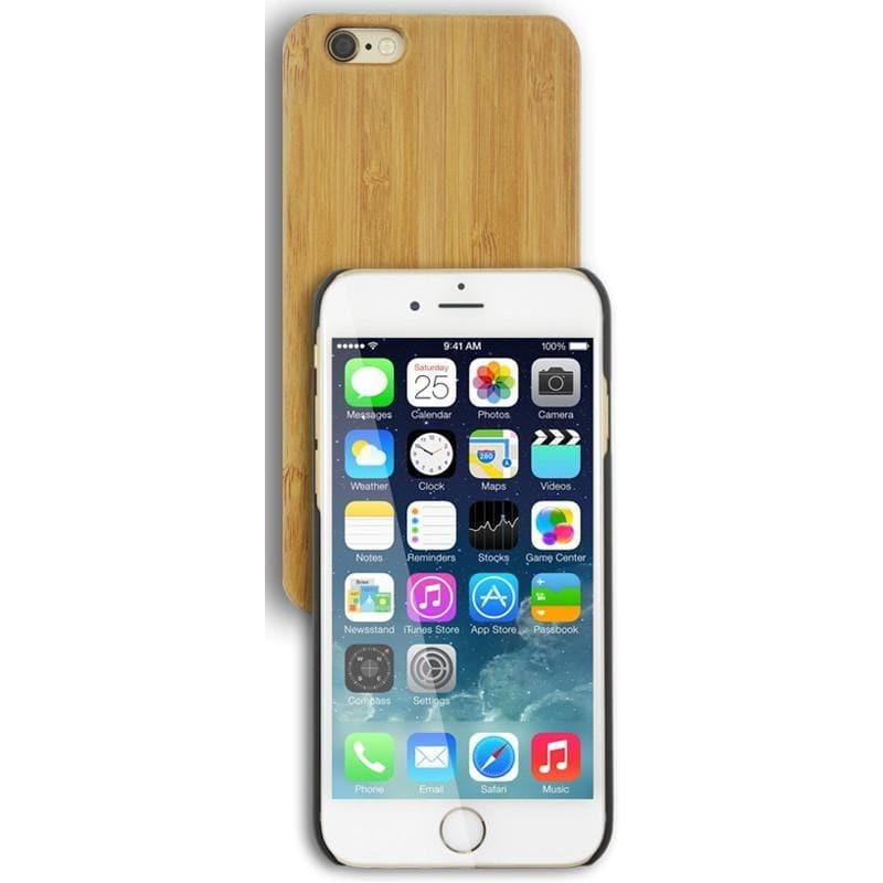 iPhone 6 Plus / 6S Plus Luxury Protective Wooden Case - Light Wood