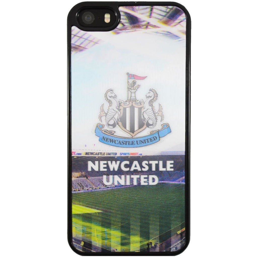 iPhone  5 / 5S / SE - Genuine Newcastle Official Football Hologram Hard Case