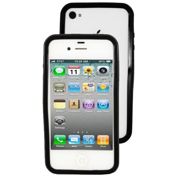 iPhone 4 / 4S - Bumper Protective Case - Black