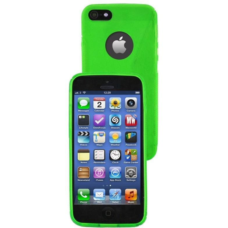 IPhone Cases - IPhone 5/5S - Green - Gel Silicone Case