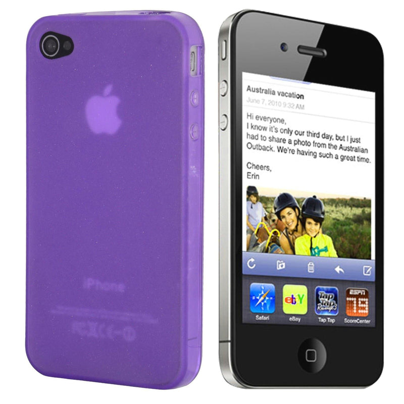 iPhone 5 / 5S / SE - Hydro Gel Soft Silicone Protective Case - Purple