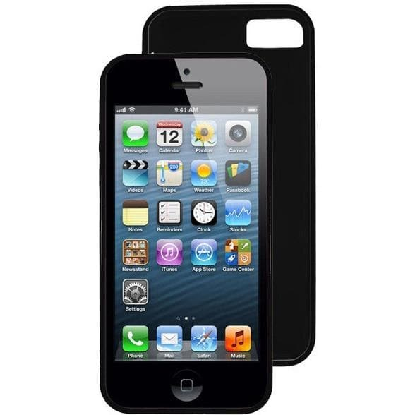 iPhone 5/5S/SE - Black - Hydro Gel Case