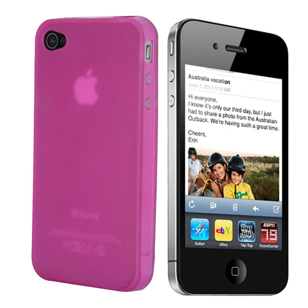 iPhone 5 / 5S / SE - Hydro Gel Soft Silicone Protective Case - Pink
