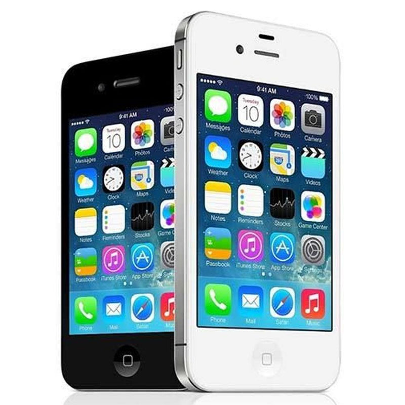 Apple iPhone 4S - White / Silver - (16GB) - Unlocked - Good Condition