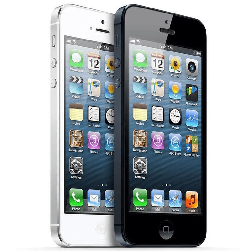 Apple iPhone 5 - White / Silver - (16GB) - Unlocked - Grade A - Full Bundle