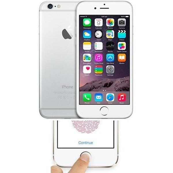 Apple iPhone 6 Silver Factory Unlocked Faulty Touch ID 128GB
