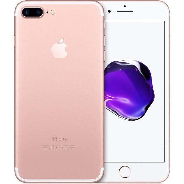 Apple iPhone 7 Plus Rose Gold - (128GB) - Unlocked - Good Condition