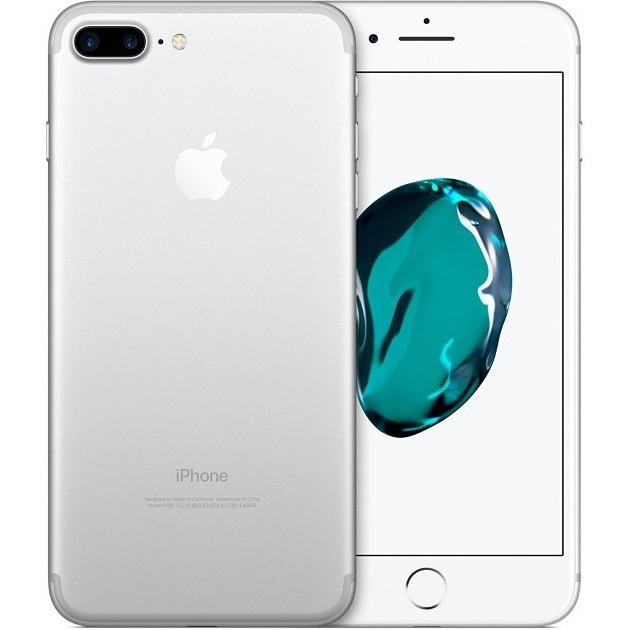 Apple iPhone 7 Plus (256GB) - Silver / White - Factory Unlocked