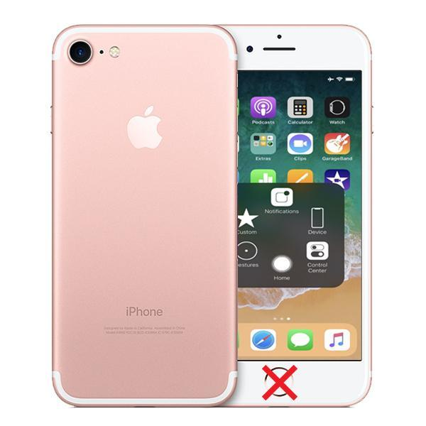 Apple iPhone 7 Rose Gold 32GB Unlocked - Cracked Home Button