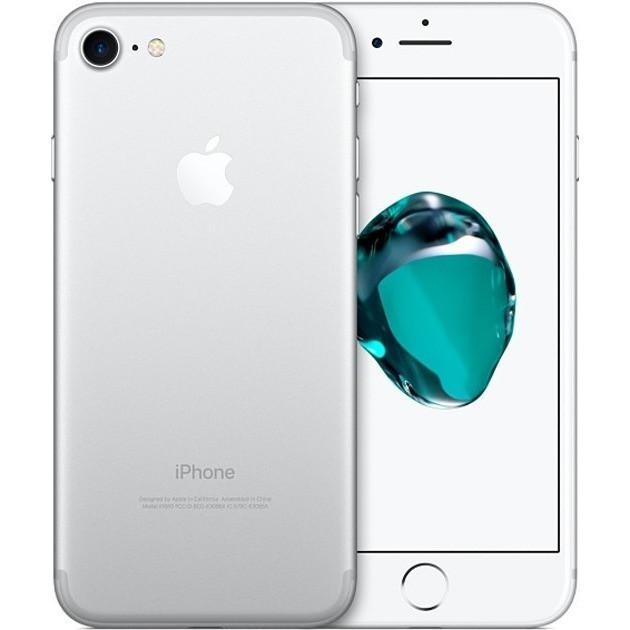 Apple iPhone 7 (128GB) - Silver / White - Factory Unlocked