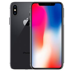Refurbished Apple iPhone X - Space Grey - (64GB) - Unlocked - Good Condition