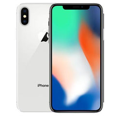 Apple iPhone X - White / Silver - (64GB) - Unlocked - Good Condition