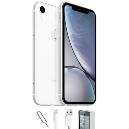 Apple iPhone XR - White - (64GB) - Unlocked - Grade A