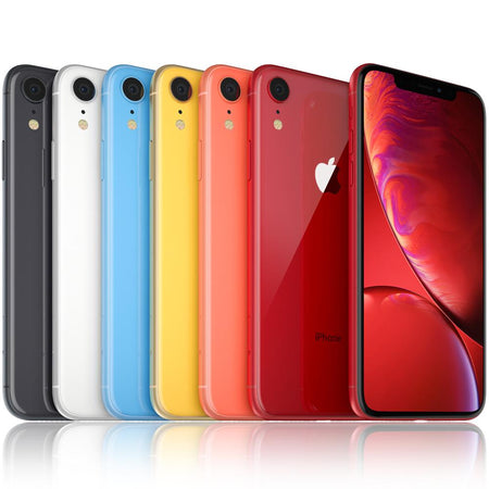 Apple iPhone XR - Coral - (256GB) - Unlocked - Grade A Full Bundle