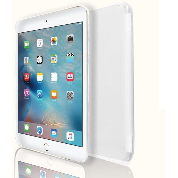 iPad Mini 4 - S Line Gel Soft Silicone Case  - White