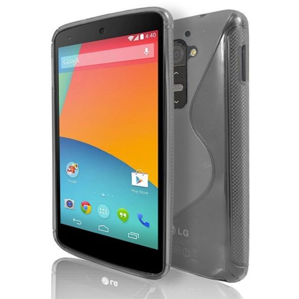 LG G2 - Clear S Line Gel Silicone Case