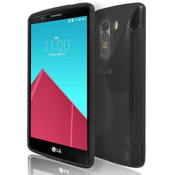 LG G4 - Black S Line Gel Silicone Case