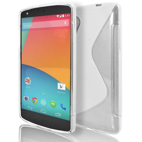 LG Nexus 5 - White S Line Gel Silicone Case